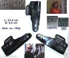 Hk p7 left hand holster cuero policía cazador Heckler & Koch H & K Bundeswehr Police