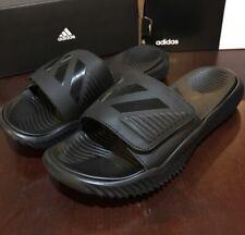 Adidas Originals Men's Alphabounce Slides Shoes Sandals Black B41710 Size 13