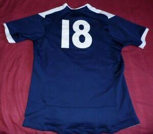 Maillot De Rugby De Match Du XV De France Féminin N°18 Porté Saison 2010/2011