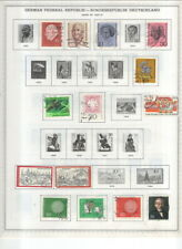 GERMANY DDR / FEDERAL REPUBLIC ON MINKUS ALBUM PAGES-1970-1997