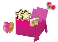 KIT COMPLEANNO N49 STAR PRINCESS STELLA ORO STELLE FESTA BAMBINA DORATO FESTA