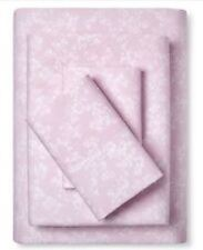 Simply Shabby Chic Rose Slipper KING Sheet Set  4 pc New Pink Floral