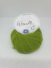 DMC Wooly Merino 100/% Laine-DK-Shade 0081-Vert 50 g Balle