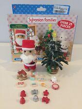 Sylvanian Families Papá Noel & Tree Conjunto en caja