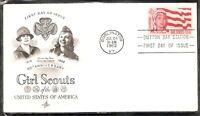 US SC # 1199Girl Scouts FDC. Artcraft Cachet 1