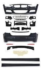 Bodykit für BMW 3er F30 F31 LCI Stoßstange Heck Front Schweller ABS M Paket M3