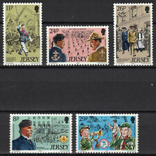 Jersey:1982 Sc#295-99 Mnh Scouting Year je204