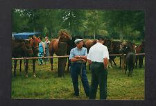 SAINTE-CHRISTINE prés de BENET (85) FOIRE ,Marché aux CHEVAUX trés animé en 2001