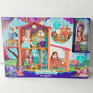 Enchantimals Cosy Deer House Playset with Danessa Deer Doll and Sprint Figure
