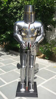 Medieval Knight Suit of Armor Combat Full Body- Armour Suit With Sword Stand