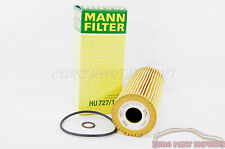 Mercedes benz TS OIL FILTER ELEMENT Mann Filter HU727/1x 104 180 01 09