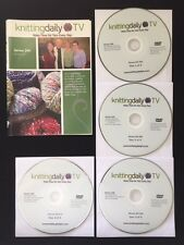 DVDs Only! Knitting Daily TV Series 200 With Eunny Jang