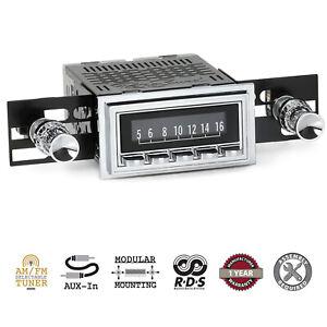 1960-62 Chevrolet Chevy Car RetroSound Laguna Radio AM/FM AUX RetroRadio Stereo