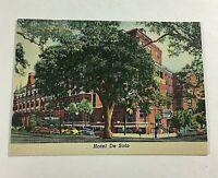 """VINTAGE 1930s Mini Photographs Souvenir Pictures 3.5X2""""Savannah GA Hotel De Soto"""