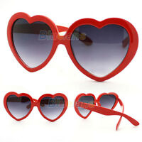 Fashion Funny Summer Love Heart Shape Lolita Sunglasses Sun Glasses Gift Cheaply