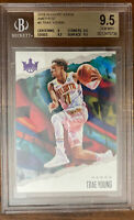 2019-20 Panini Court Kings Trae Young Amethyst 74/99- BGS 9.5 SSP