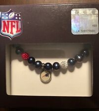 2-Pack NFL New England Patriots Stretch Bracelet /& Hair Tie