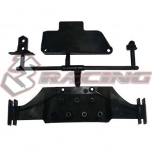 3RACING SAK-D429 Rear Diffuser Set For 1/10 SAKURA D4 RC EP AWD RWD Drift RC Car