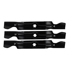 "3 REPLACEMENT CUB CADET MOWER BLADES 50"" CUT 742-04053A B C 942-04053A B C"