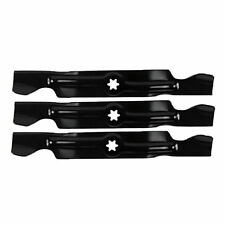 "3 REPLACEMENT BLADES FOR MTD CUB CADET 50"" DECKS 942-04053C 742-04053"