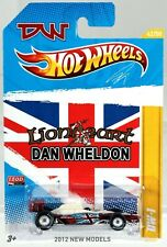 "Hot Wheels (2012) Dan Wheldon ""Lion Heart"" Indy Car with ""Real Riders"" New NIP"