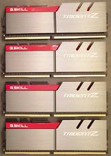 DDR4 G.Skill Trident Z (4x 4go) 16GO 16GB DDR4 3600Mhz CL17-18-18-38 | Like new