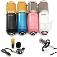 Pro BM800 Dynamic Condenser Microphone Mic Sound Studio Record Braodcasting Kit