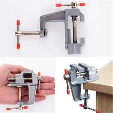 Mini Table Vice Aluminium Alloy Screw Bench Vise for Craft Mould Fixed Tool JD