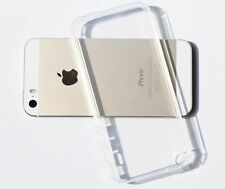 Clear Transparent Crystal Soft TPU Silicone Gel Cover Case For iPhone 5/5s LN