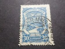 COLOMBIE - COLOMBIA timbre AERIEN 47, AVION, AIRMAIL oblitéré