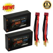 Powerhobby 2s 7.6V 5600mah 100c HV Shorty Lipo Battery Deans ( 2 pack )