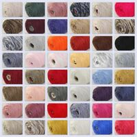 Sale New 400gr Cone Yarn Soft Worsted Cotton Chunky Wrap Shawl Scarf Hand Knit