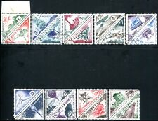 MONACO PORTO 1953 40-57 gestempelt SATZ 100€(A9281