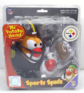 Mr Potato Head NFL Edition Pittsburgh Steelers Sports Spuds Hasbro NEW Sealed