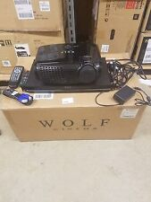 Wolf Cinema SDC-6 // ProScaler MK III DLP 2D/3D Front Projection System