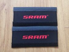 2 x NEOPRENE BICYCLE ACCESSORIES BIKE CHAIN STAY FRAME PROTECTOR FOR SRAM