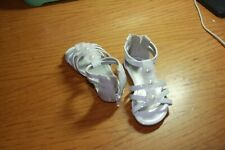 Toddler girls sandals . size 5, worn once. Okie Dokie
