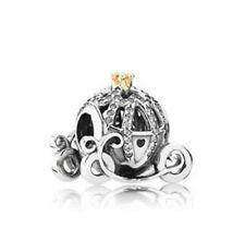 DIY 925 Silver Crystal pumpkin car Charm European Beads Fit Necklace Bracelet