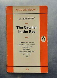J.D.Salinger THE CATCHER IN THE RYE Vintage Penguin 1963 pb