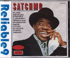 Louis Armstrong - Satchmo CD Digitally remastered- 1989 Pickwick- Made in Sweden
