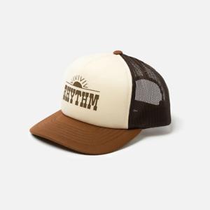 Rhythm Western Trucker Cap Mens in Almond