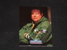 MIKE HOLMGREN 1992 PRO LINE SIGNED AUTOGRAPHED CARD #392 GB PACKERS COACH