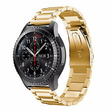 For Samsung Gear S3 Watch Band With Solid Metal Stainless Steel Bracelet Strap