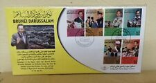 FDC Brunei 2011 - Sultan Brunei 65th Birthday
