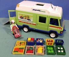 (K140) playmobil fourgon épicerie ref 3204 3200 3201