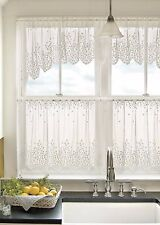 Heritage Lace BLOSSOM Swag Pair 48x22 ECRU Made in USA