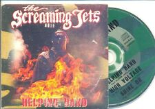 THE SCREAMING JETS Helping Hand RARE CD Single AC/DC High Voltage Cover