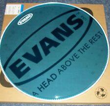 "NEW Evans 22"" BLUE Hydraulic Bass Drum Head"