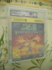 >> VGA 85 TURBO DUO US FALCOM WANDERERS FROM YS III 3 NEW FACTORY SEALED! <<