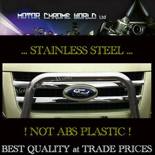 FIT FORD TRANSIT VAN CHROME GRILLE COVERS ACCENT TRIM STRIPS 2006-2013 SET of 2